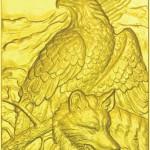 орёл и волк