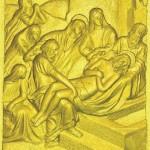14 Тело Иисуса кладут в гроб