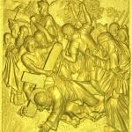 3 Иисус в первый раз падает под тяжестью Креста