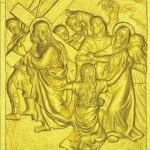 4 Иисус встречает Свою скорбящую Мать Марию