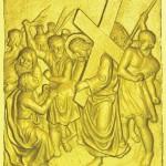 6 Вероника вытирает лицо Иисуса своим платком