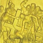 7 Иисус во второй раз падает под тяжестью Креста